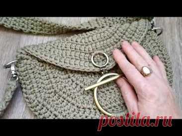 Обзор сумки из шнура/красотка