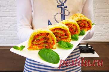 Рецепт нового и очень вкусного блюда из кабачков, которое можно подавать даже на праздник | MEREL KITCHEN | Пульс Mail.ru