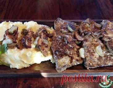Говяжья печень по-мушкетерски – кулинарный рецепт