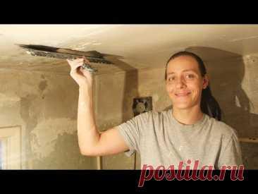 Como shpaklevat el techo al Novato sin Experiencia