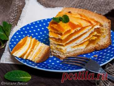 Самый вкусный пирог осени: творожный с тыквой – Рецепты – Домашний
