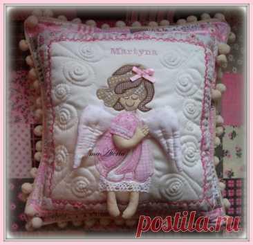 Идеи красивых детских подушек в стиле пэчворк