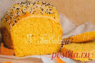 Морковный хлеб Надеюсь, мои рецепты хлеба в духовке вас все еще радуют? Предвкушая положительные ответы, сегодня поделюсь с вами еще одним – приготовим яркий и солнечный морковный хлеб.