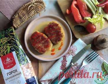 Постные гороховые котлеты – кулинарный рецепт