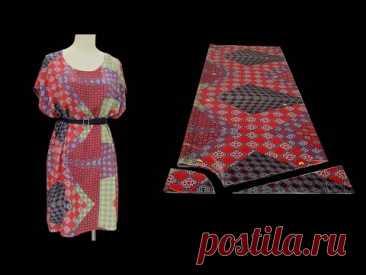 Простое, но современное летнее платье, которое может сделать каждый сам | Крой и пошив платьев