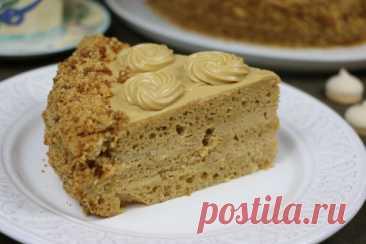 Торт «Золотой ключик» Рецепты домашней выпечки от Ирины Хлебниковой