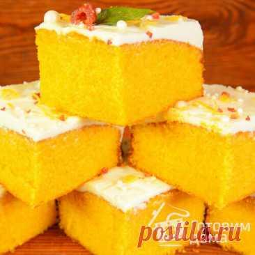 Нашла этот рецепт в старой маминой тетради: не ожидала, что бисквит из морковки с кремом может быть таким вкусным | Готовим дома | Яндекс Дзен