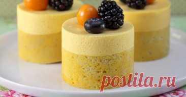 Муссовые пирожные – популярный десерт нового поколения