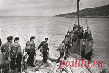 Морская пехота в годы войны