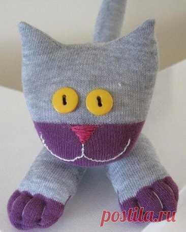 Мягкая игрушка из носка