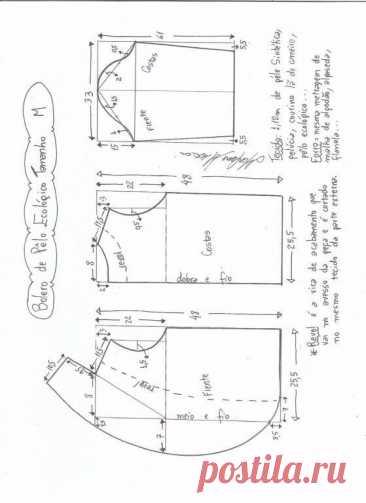 Меховое болеро. Выкройка (Шитье и крой) – Журнал Вдохновение Рукодельницы