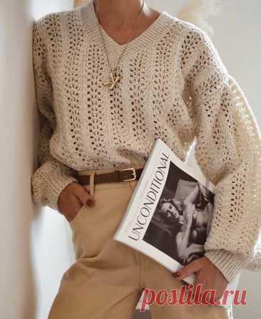 97 самых модных свитера 2020 - схемы вязания
