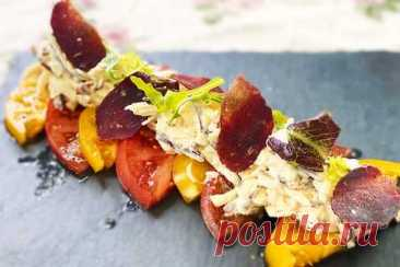 Потрясающая закуска - помидоры с сыром | Вкусные кулинарные рецепты