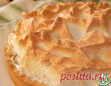 Яблочный пирог с ванильной меренгой – кулинарный рецепт
