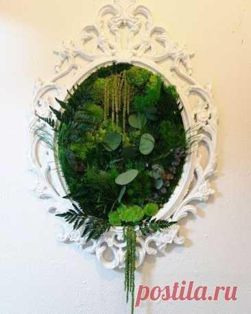 Декор из растений (подборка) Модная одежда и дизайн интерьера своими руками