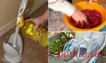 Household cunnings which will make life simpler and cleaning it is more pleasant (17 photos)