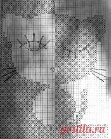 Филейное вязание крючком, 27 моделей с описанием и схемами вязания