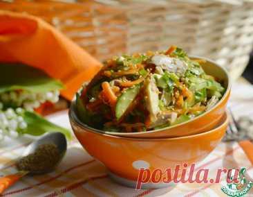 "Салат из моркови по-корейски ""Солнечный"" – кулинарный рецепт"