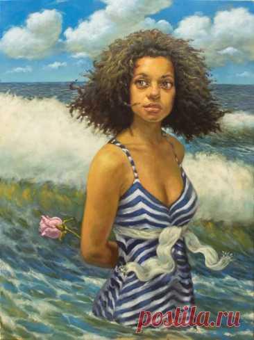 Кубинский художник. Reynier Llanes