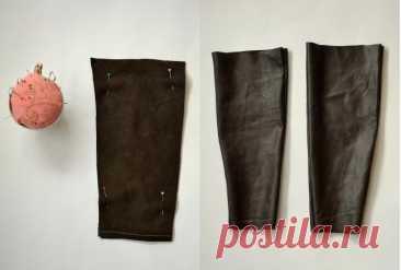 Кожаные рукава (Diy) Модная одежда и дизайн интерьера своими руками