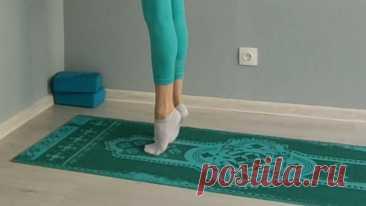 Легкость и здоровье ваших стоп. Комплекс упражнение для укрепления стоп.