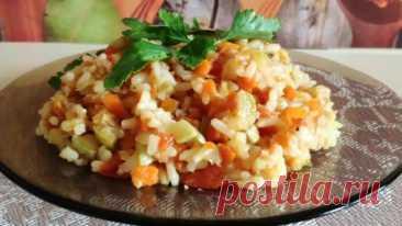 Кабачки с рисом: вкусный обед на каждый день - Сабрина