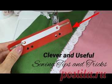 4 умных совета и хитрости в шитье. Техника шитья для начинающих | Швейные Приколы