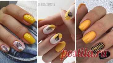 20 дизайнерских идей для оформления ногтей в горчичном цвете – ВСЕ ПРОСТО