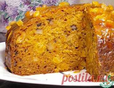 Морковный пряный пирог – кулинарный рецепт