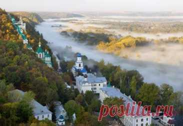 Святогорская Свято-Успенская Лавра (Украина, Святогорск Донецкая обл)