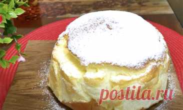 Добавляем к яйцам йогурт и получаем самый пышный торт. Выпечка без муки и лишнего масла