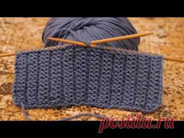 Узор «Мужской» спицами 🙋♂ Men's Knitting Pattern 🤷♂