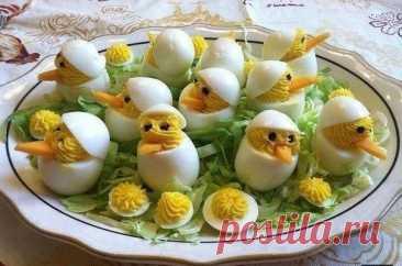 Фаршированные яйца: 26 вариантов начинки