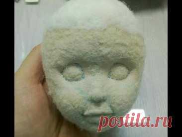 Как сделать объемный рот текстильной кукле