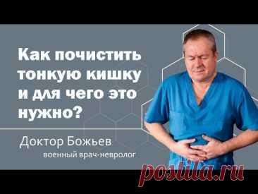 КАК ПОЧИСТИТЬ ТОНКУЮ КИШКУ И ДЛЯ ЧЕГО ЭТО НУЖНО? | ШКОЛА ЗДОРОВЬЯ и доктор Божьев
