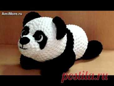 Амигуруми: схема Пандочка. Игрушки вязаные крючком - Free crochet patterns.