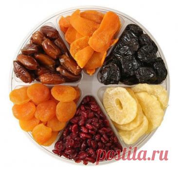 О пользе некоторых сушеных продуктов    1.Абрикосы (курага) — это лекарь для сердца и сосудов. В кураге много калия и антиоксидантов. Курага выводит из организма вредный холестерин. Сушеный абрикос полезен для людей с заболеваниями щитовидной железы и с сахарным диабетом.    2. Ананас. Сушеные ананасы являются источников калия и магния, железа и цинка, витаминов группы B и клетчатки, полезной для пищеварения. Сушеные ананасы помогают избавиться от отеков, придают силы и ул...