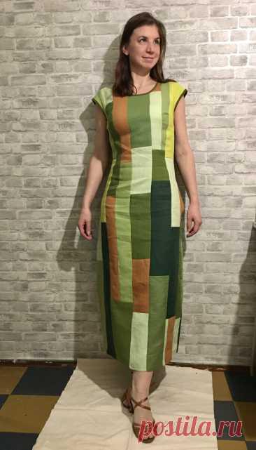 Лоскутное платье — подробности процесса. Сшить, нельзя выбросить | Записки рукодельницы | Яндекс Дзен