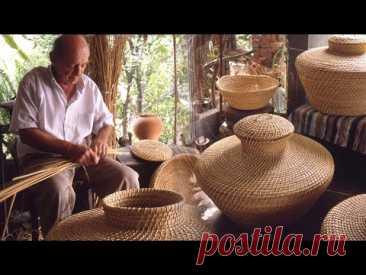 Корзины плетеных изделий из тростника и рогоза ручной работы: балайо и таньос   Потерянные сделки