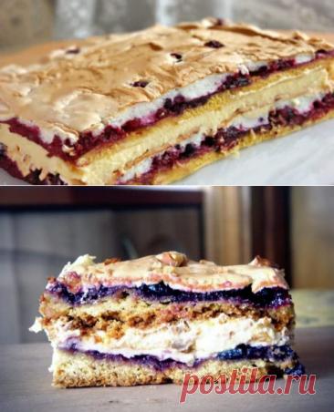 Приготовьте польский пляцок Pani Walevska - это невероятно вкусная и очень красивая выпечка! - be1issimo.ru