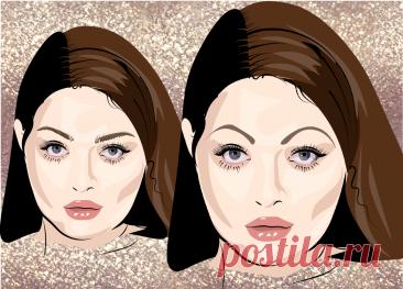 Стройнящие брови, омолаживающие брови и другие приемы макияжа, которые помогут сделать лицо красивым | Елена Юлкина | Яндекс Дзен