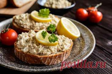 Как вкусно закрыть ежедневный план по омега-3: простой и нежный паштет к завтраку | Nice&Easy | Яндекс Дзен