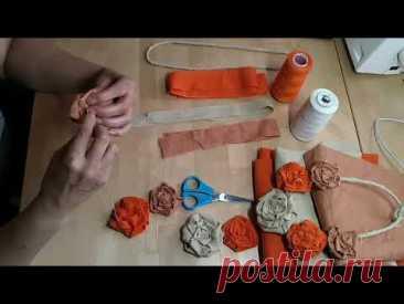 Мастер-класс «Колье из ткани в стиле «Бохо» от студии пошива театрального костюма