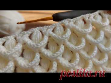 Super Easy Crochet Knitting - Muhteşem Tığ Örgü Modeli