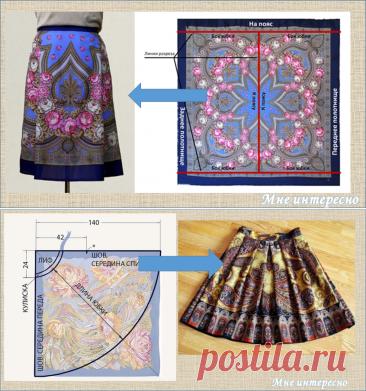 Как сшить юбку практически из ничего - более 30 бюджетных идей и примеров - вторая жизнь вещей   МНЕ ИНТЕРЕСНО   Яндекс Дзен