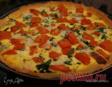Как приготовить Пирог из тыквы с горгонзолой Пошаговый рецепт с ингредиентами и фото