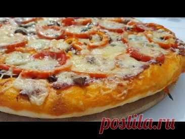 Воздушное, нежное и невероятно вкусное тесто для пиццы #пицца #тесто #тестодляпиццы #рецепты