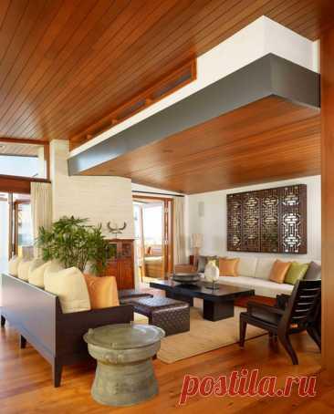 30 вариантов оформления потолка, среди которых вы найдёте свой — Roomble.com