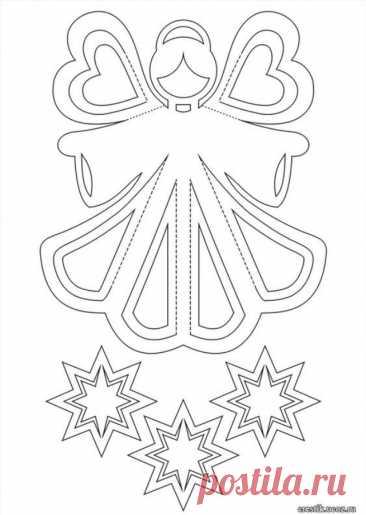 Как да си направим ангел от хартия: 32 различни модела стъпка по стъпка | Списание Crafts