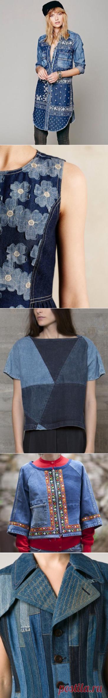 Своими руками (Творчество, Шитье, Выкройки)Идеи из джинсовой ткани. Переделки из джинсы